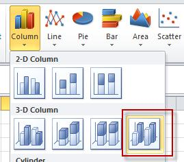 Best excel tutorial 3 axis chart ribbon menu ccuart Gallery