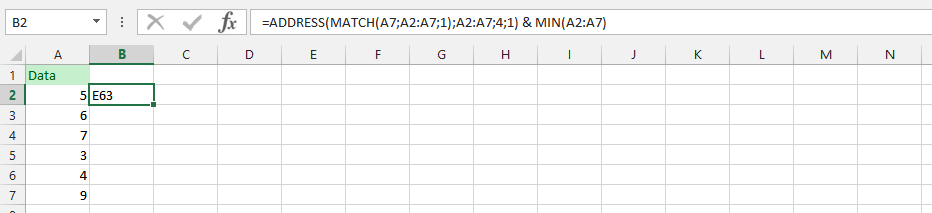 Using Three Different Formula in two Different Formulas