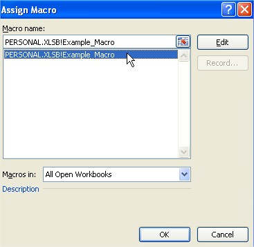 Assign Example Macro