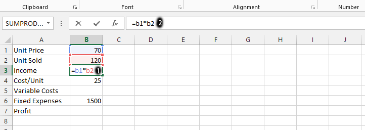 Best Excel Tutorial - How to calculate Break Even Point?