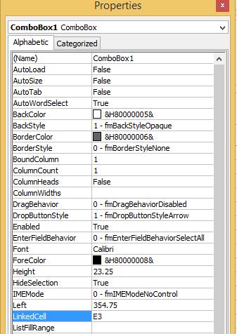Best Excel Tutorial - Combo box