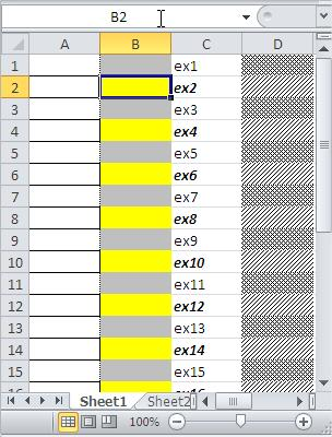 Excel Conditional Formatting Other Ways