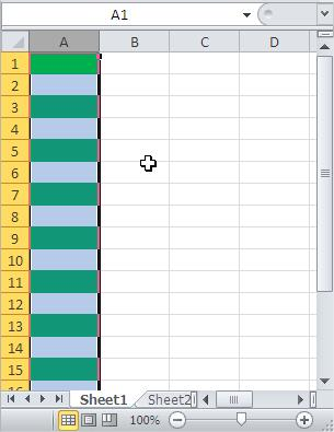 Excel Every Second Row Highlighted