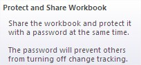Excel how to protect file Excel Protect Share Workbook