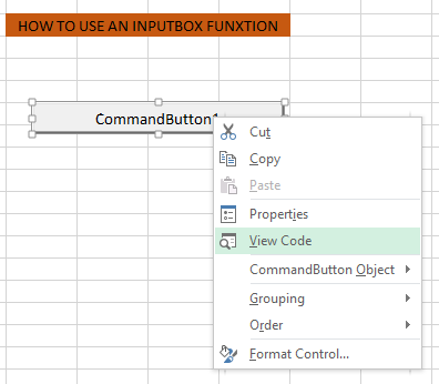 how to set text in input box vb