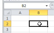 Microsoft Excel adress cell