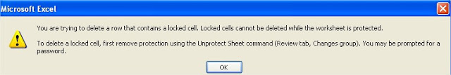 Microsoft Excel password protection