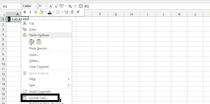 Best Excel Tutorial - How to Set Time in Milliseconds?