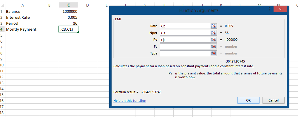 Best Excel Tutorial How To Calculate Monthly Payment