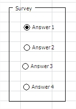 Survey in Excel