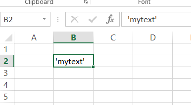 Best Excel Tutorial - How to display a single quote in a cell?