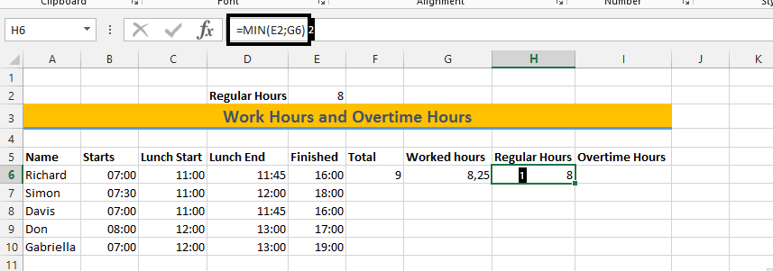Best Excel Tutorial - How to Calculate Overtime Hours?