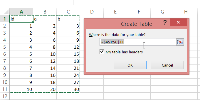 best excel tutorial  create pivot table from multiple sheets define a name for each table just type the name in and press enter see on  the picture below to find the names place