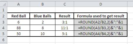 Best Excel Tutorial - How to calculate ratio?