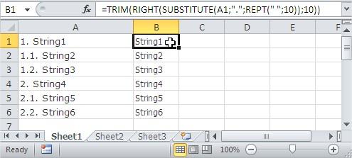 Best Excel Tutorial - TRIM function