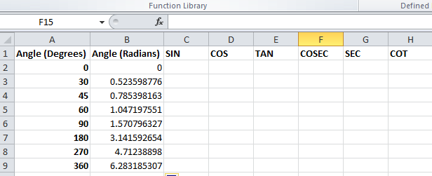 degrees in excel  Best Excel Tutorial - How to Use Trig Functions in Excel?