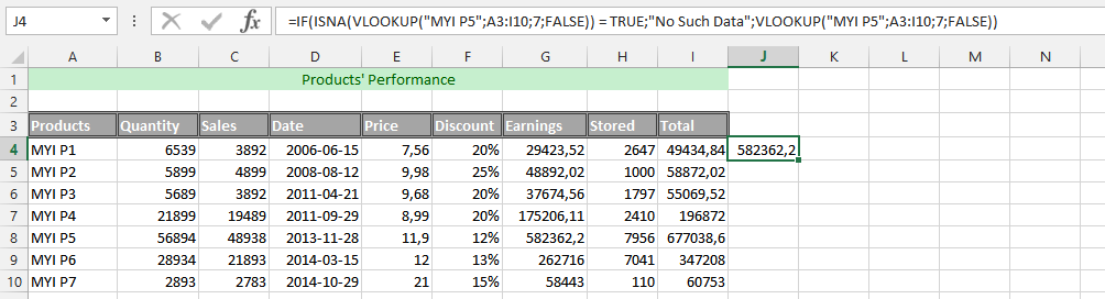 Simultaneously Using VLOOKUP Function with 2 other Functions