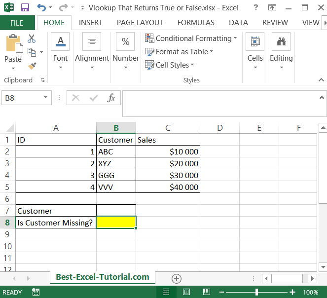 Vlookup data table