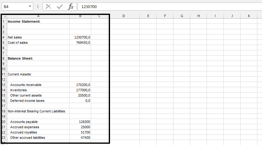how to make income statement