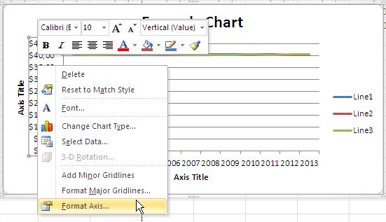 Best excel tutorial how to zoom in graph zooming graph format axis ccuart Image collections