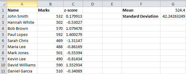 Best Excel Tutorial How To Calculate Zscore. Z Score Calculations. Worksheet. Excel Vba Worksheet Name Ermitteln At Mspartners.co